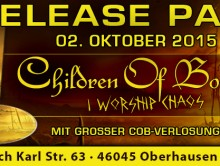 Children of Bodom Release Party kommt nach OB