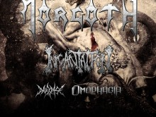 Morgoth, Incantation, Darkrise, Omophagia