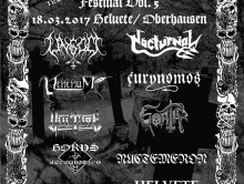 Running Order für Unholy Metal Mayhem
