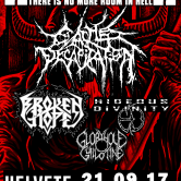 Cattle Decapitation, Broken Hope, Hideous Divinity + 1