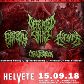 Defeated Sanity, Epicardiectomy, Acranius, Oral Fistfuck