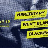Hereditary+ Blackening + Went Blank