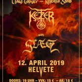"""Ketzer – """"Cloud Collider"""" Release Show – with Slaegt"""