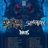 Belphegor + Suffocation + Hate